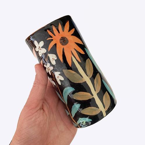 Ceramic Tube Vase: Flowerstem