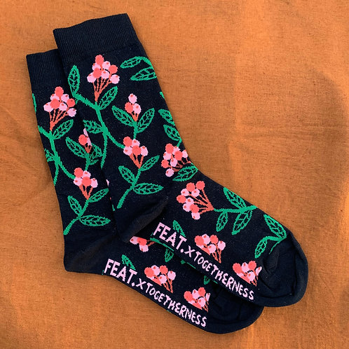 FEAT x Togetherness Socks: Lilly Pilly