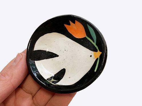 Mini Ceramic Dish: Birdsong
