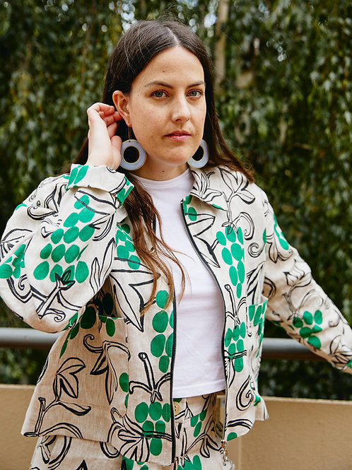 Everyday Jacket: Grapevine Print