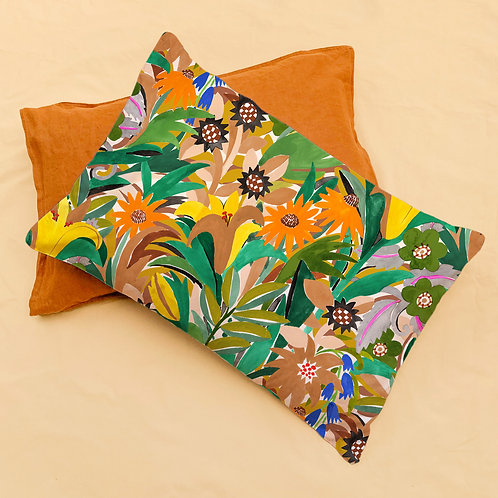 Pillowcase: Gardener Print