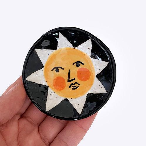 Mini Ceramic Dish: Summer Sun