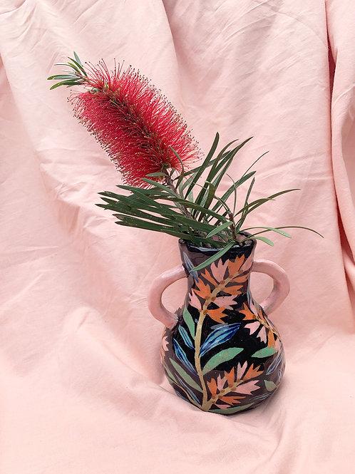 Large Ceramic Vase: Bottlebrush