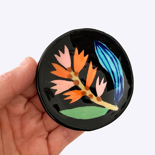 Mini Ceramic Dish: Bottlebrush