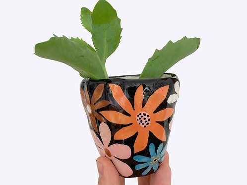 Ceramic Bud Vase: Flower Power