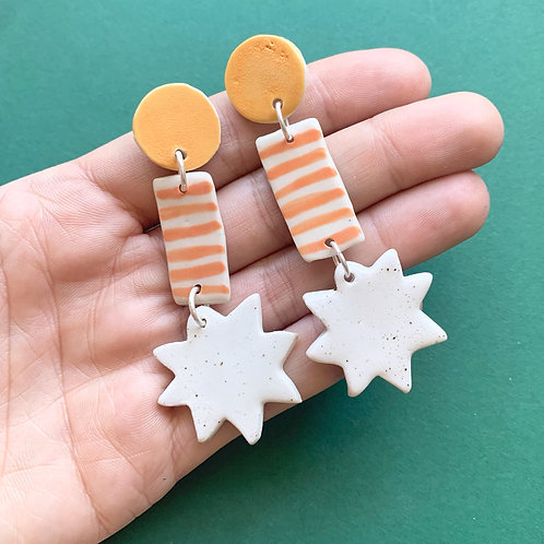 Ceramic Drop Earrings: Mix and Match