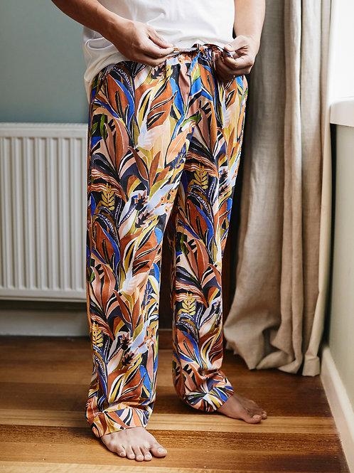 Unisex Pyjama Pants: Nightfall Print