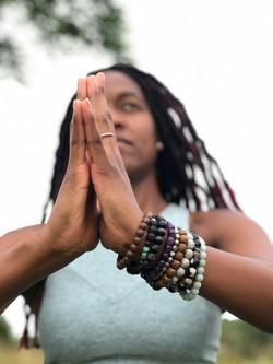 Jade, yoga + meditation instructor