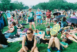 climate march on the lawn 2017