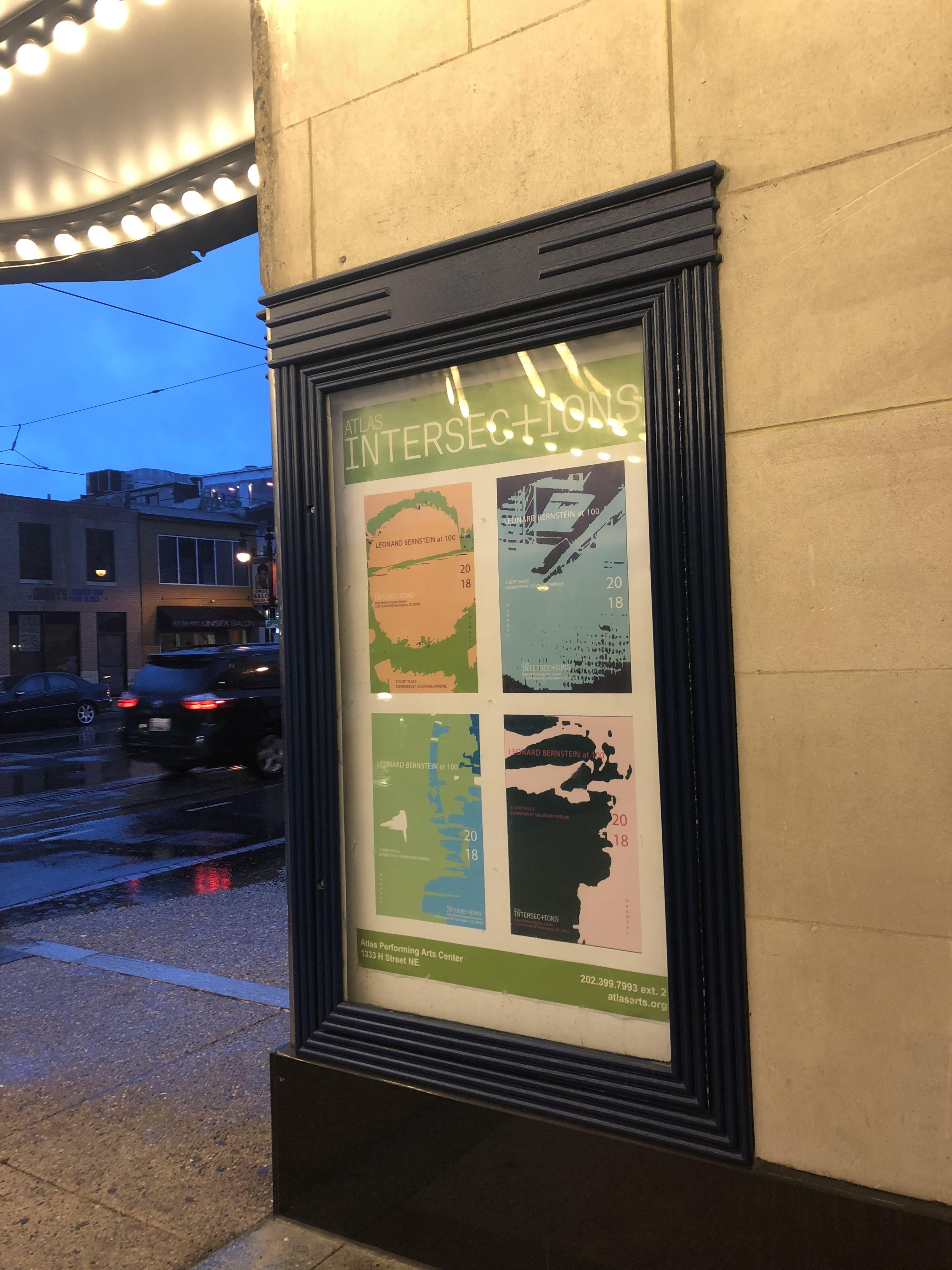 Bernstein Graphic Poster, 2018