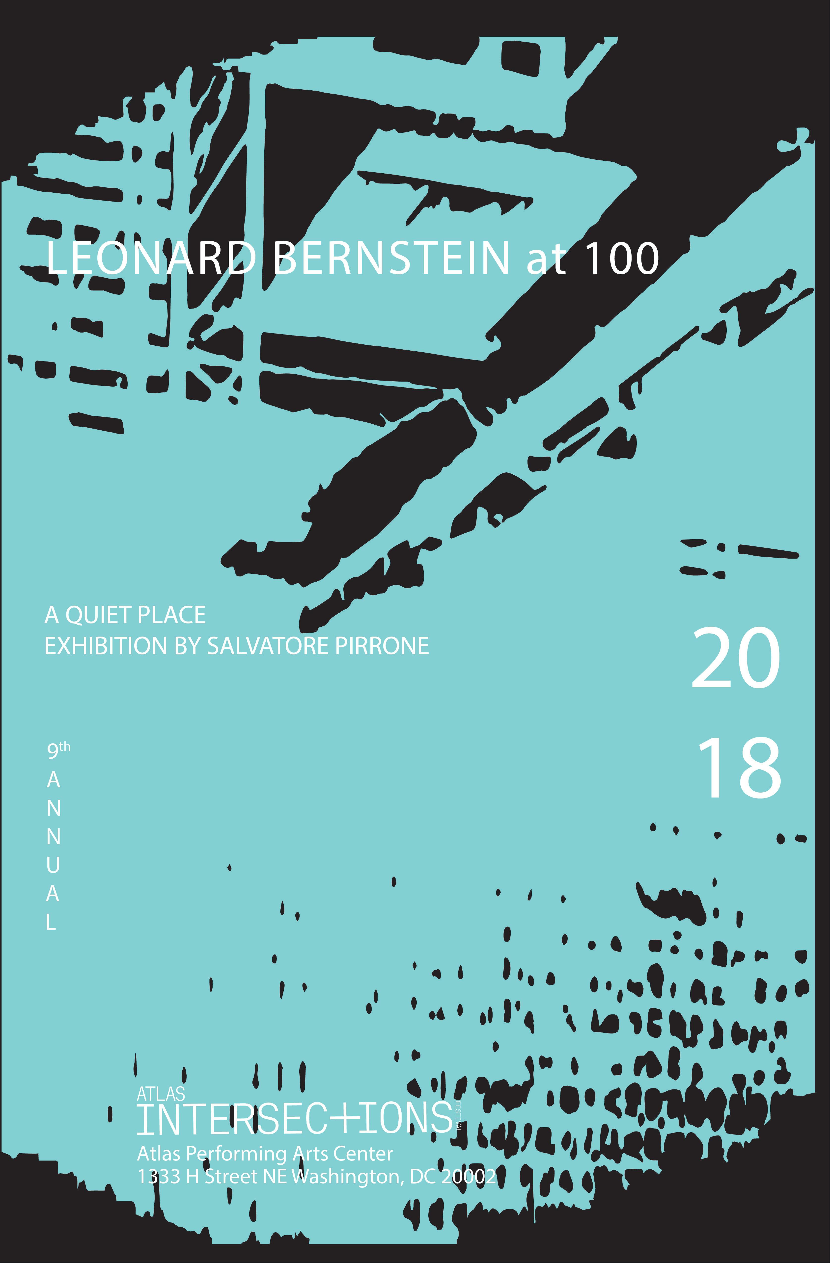 Leonard Bernstein at 100 Poster