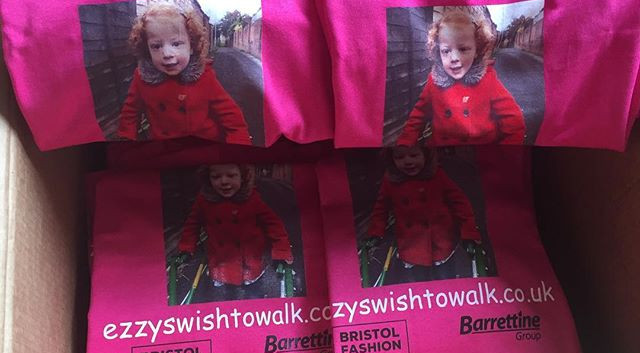 👚 Ezzys wish to walk T shirts For SALE