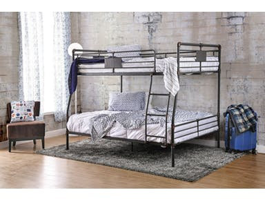 OLGA I FULL TWIN METAL BUNK BED