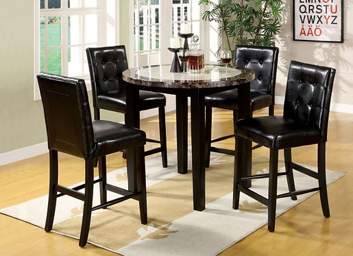 ATLAS IV 5PCS. COUNTER HEIGHT DINING SET