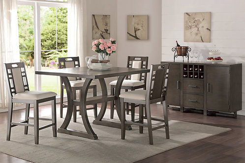 WINCHESTER 5PCS. COUNTER HEIGHT DINING SET