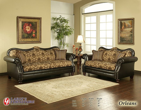 ORLEANS SOFA AND LOVESEAT