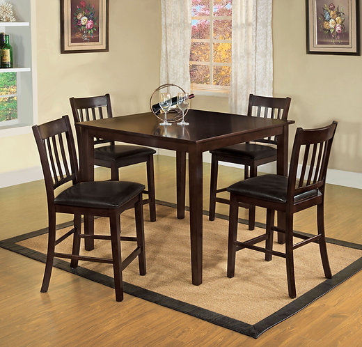 WEST CREEK II 5PCS. PACK COUNTER HEGHT DINING SET
