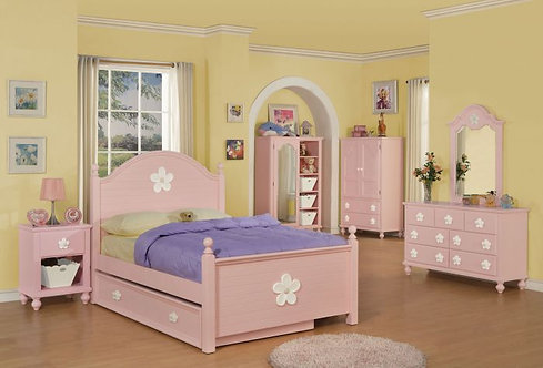 FLORESVILLE  4PCS FULL BEDROOM SET