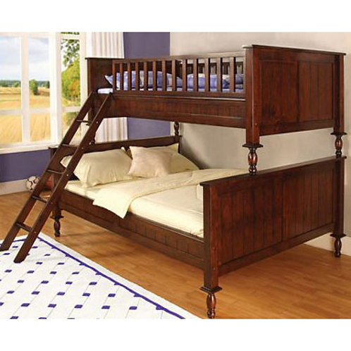 RADCLIFF TWIN OVER FULL WOOD BUNK BED