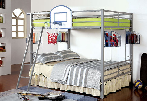 ATHLETE FULL OVER FULL METAL BUNK BED