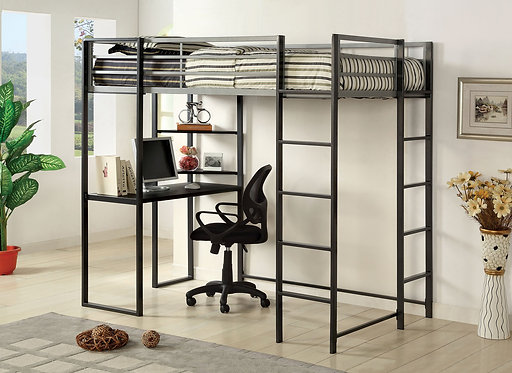 SHERMAN TWIN  BED WITH WORKSTATION