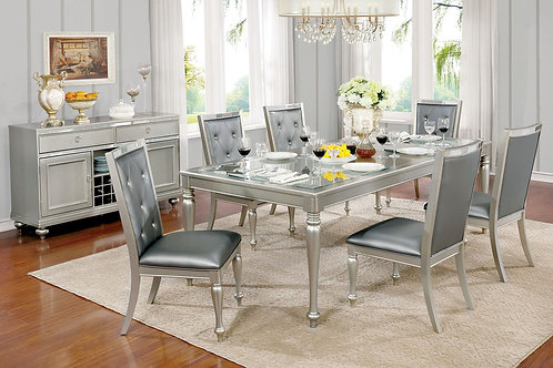 SARINA COLLECTION COMTEMPORARY DINING ROOM SET