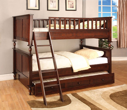 RADCLIFF TWIN TWIN WOOD BUNK BED