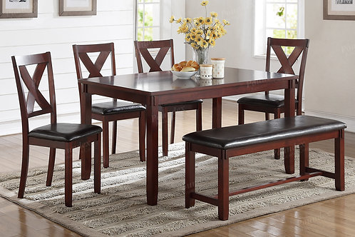6PCS. PACK DINETTE SET