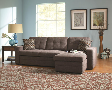 GUS SECTIONAL HIDDEN PULL-OUT BED