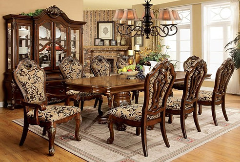 VICENTE EXTANDABLE RECTANGULAR DINING ROOM SET