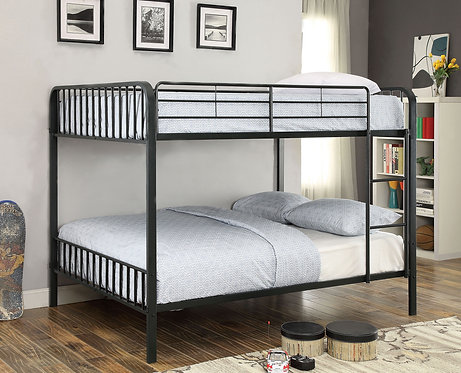 CLEMENT FULL OVER FULL METAL BUNK BED