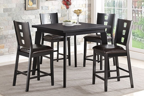 BECKER 5PCS COUNTER HEIGHT DINING SET