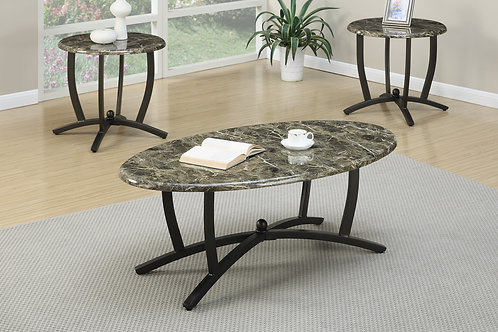 FABIOLA F3PCS. COFFEE TABLE SET
