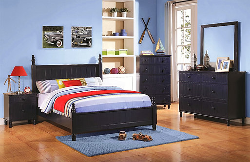 ZACHARY COLLECTION 4PCS BEDROOM SET