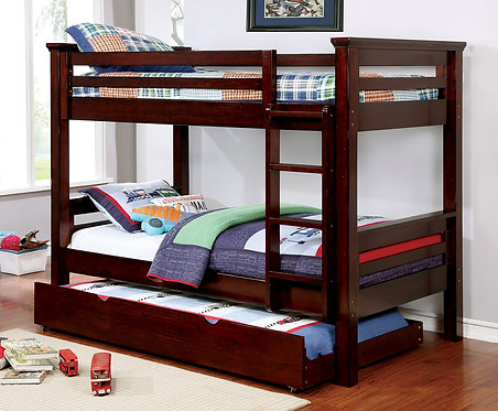 MARCIE TWIN OVER TWIN WOOD BUNK BED
