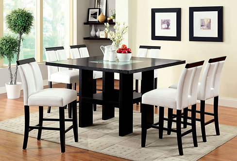 LUMINAR II 7PCS. CONTEMPORARY STYLE DINING SET