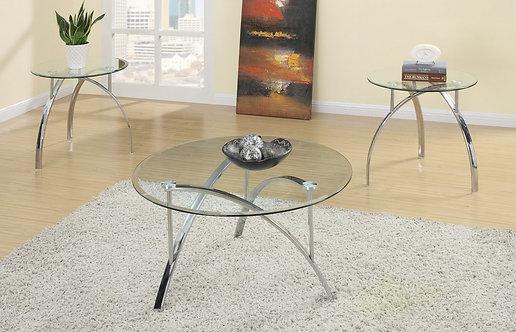 GLORIA 3 PCS. COFFE TABLE SET