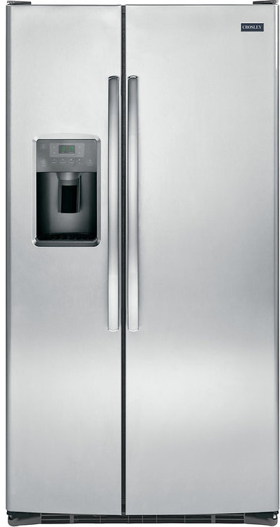 25.3 Cu. Ft. Stainless Steel Side by Side Refrigerator by CROSLEY