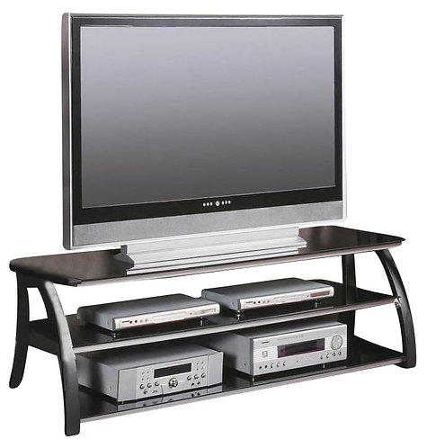 60' TEMPERED GLASS TV STAND