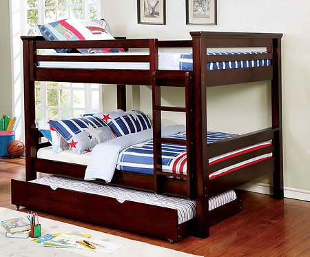 MARCIE FULL OVER FULL WOOD BUNK BED