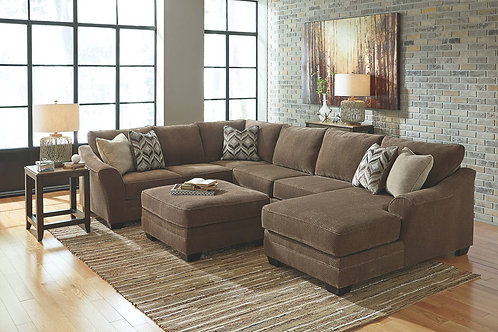 JUSTYNA TEAK SECTIONAL SOFA
