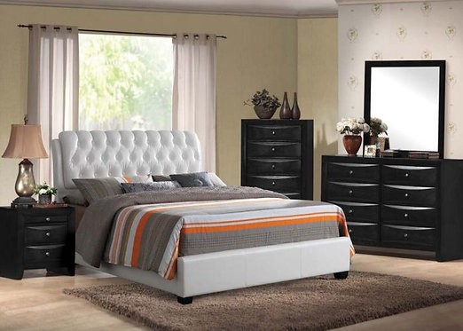IRELAND IV WHITE UP BEDROOM SET