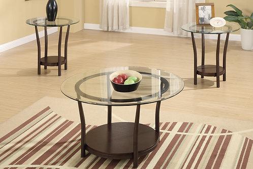 LILY 3PCS. COFFEE TABLE SET