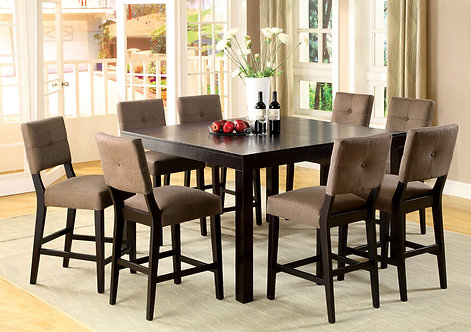 BAY SIDE II 9PCS. COUNTER HEIGHT DINING SET
