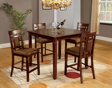 MONTCLAIR II 5PCS. PACK COUNTER HEGHT DINING SET