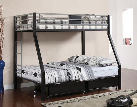 CLIFTON TWIN OVER FULL METAL BUNK BED