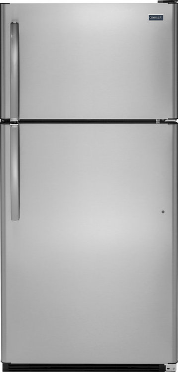 20.8 Cu.Ft. Stainless Steel Top Freezer Refrigerator by CROSLEY