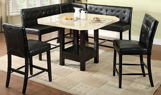 BAHAMAS 6PCS. COUNTER HEIGHT DINING SET