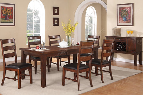 JONATHAN ANTIQUE WALNUT DINING ROOM SET