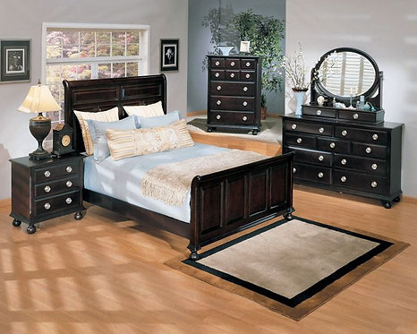 AMHERST ESPRESSO FINISH BEDROOM SET